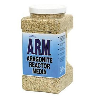Carib Sea Presents Carib Arag Reactor Media A.R.M. 1gal (8lbs). Arm Fine is for Most Downflow Reactors, Fludized Bed Type Reactors, and all Uplflow Reactors Other than Rapid Upflow Type. It is a Complete Reactor Media Containing not only Calcium and Carbonate, but Essential Trace Elements as Well. In Fact, Arm has Nearly 50 Times the Strontium of Other Brands (7390 Ppm). Arm is Processed for Immediate Use, no Rinsing Required, and has Double the Surface Area of Regular Aragonite. Precision Grading (2-3mm) Allows for Maximum Carbon Dioxide Penetration, and the Exclusion of Gastropod Shells Insures the Lowest Phosphate (Less than 1/10 of 1 Ppm) Content. This Grading also Carries in the Highest Concentration of Halimeda Incrassata, an Aragonite so Pure it has been Used as a Laboratory Standard. Arm has the Highest Solubility of any Reactor Media Available (Metastable at 8.2) so Typical Co2 Consumption is Much Lower. 1 Gal [28728]