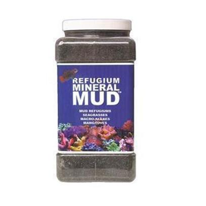 Carib Sea Presents Carib Mineral Mud 1gal. Mineral Mud™ - Caribsea's Mineral Mud™ is a Unique Blend of Sediments that Duplicate Tropical Fringing Coastal Mangrove Environments. Mineral Mud™ Particles are in a Size Range Compatible with Soft, Burrowing Infaunal, Macro Animal Assemblages. Ideal for Mud Refugiums, Seagrasses, Macro-Algaes, and Mangroves, Mineral Mud™ Provides a Variety of Trace Elements, Chelated Trace Elements, Plus Calcium, Strontium, Iron, Sulfur and Free Carbon. In Addition, Mineral Mud™ Contains Live Marine Bacteria, to Complete the Tropical Ecosystem. 1 Gal [28731]