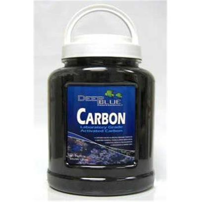 Deep Blue Professional Presents Deep Blue High Performance Activated Carbon in Jar with Media Bag 15oz. Activated Carbon Filter Media Aggressively Adsorbs Organic Pollutants from Medicines and Metabolic Wastes, Detoxifies Harmful Gases and Removes Unwanted Colors or Odors from your Water. Coal Based Activated Carbon is More Porous and Affects your Ph Less than Coconut Based Carbon. We Recommend Medicating Sick Fishes in a Separate Quarantine Tank, but if you have to Use your Main Tank, Remove Carbon First and Replace Afterwards to Remove Remaining Medicines. Carbon Removes Trace Elements Needed for Plant and Invertebrate Growth, so Make Limited Use of it in Planted and Reef Aquariums, and Always Monitor your Water Conditions. 78oz [28739]