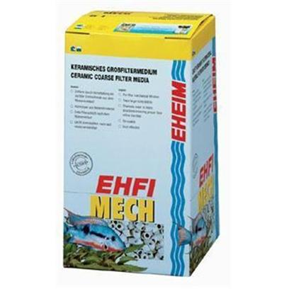 Eheim Presents Eheim Ehfimech 1 Liter. A Coarse Mechanical Filter Material which is to be Used as Bottom Layer Filtering. Its Hollow Ceramic Design Creates Eddies which Disburse the Water into Many Paths. It Traps Large Debris while Creating an Even Flow of Water for Subsequent Layers. [28755]