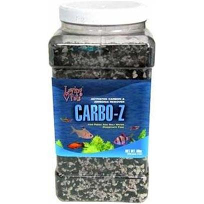 Loving Pets Presents Lv Carbo-Z 28.5oz Quart. A Special Formulation which Removes Toxic Substances, Discolorations Odors and Deadly Ammonia. Carbo-Z is a Special Formulation of the Two Most Essential Elements Necessary to Maintain a Healthy Aquarium. Carbo-Black Granules are a Highly Activated Filter Carbon. This Carbon Removes Toxic Organic Matter from Fish Waste and Food, which Causes Foul Odors and Cloudy Water. Z- White Granules are a Specific Type of Zeolite Uniquely Suited to the Removal of Deadly Ammonia. Regular Use of Loving Pets Carbo-Z in Aquariums Provides Increased Efficiency of Filtration, Helps Keep Water Odor Free, and Prevents Cloudiness. [28798]