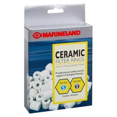 Marineland Presents Marineland (Ml) Ceramic Rng Pcml160-360 140 Pack. Marineland Ceramic Ring Pcml160-360 2pk [28826]