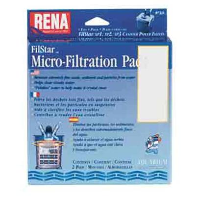 Aquarium Pharmaceuticals Presents Aquarium Pharmaceuticals (Ap) Rena Filstar Micro Fil Pads 3-Pack. Canister Filter Media Designed to Fit the Filstar Xp. For Ultra-Fine Filtration and Polishing. 3 Pads [28928]