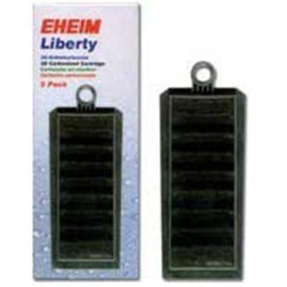 Eheim Presents Eheim Liberty 3d Insert 2pc. 12/Case 1404/Lg Pallet Fits all Liberty Filters Carbonized Foam Filter Pad [28987]