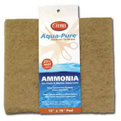 Hb.H. Enterprises Presents Hbh Ammonia Pad 10' X 18'. Impregnated with Ammonia-Grabbing Resin that Pulls Ammonia from the Water. 10&quot;X18&quot; [29002]
