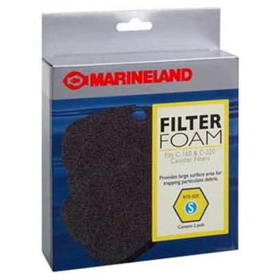 Marineland Presents Marineland (Ml) Filter Foam Pcml160-220 2pk 2 Pack. Marineland Filter Foam Pcml160-220 2pk the Filter Foam Pads Screen out Dirt and Debris. [29018]