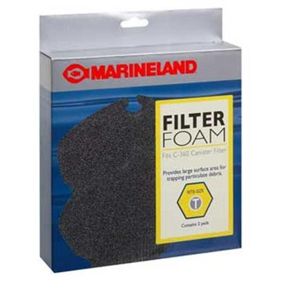 Marineland Presents Marineland (Ml) Filter Foam Pcml360 2pk 2 Pack. Marineland Filter Foam Pcml360 2pk the Filter Foam Pads Screen out Dirt and Debris. [29019]