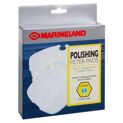 Marineland Presents Marineland (Ml) Polish Ftr Pad C160-220 2pk 2 Pack. Marineland Polish Ftr Pad C160-220 2pk for Increased Water Clarity the Polishing Filter Pad Acts as a Water Polisher, Removing Fine Debris. [29027]