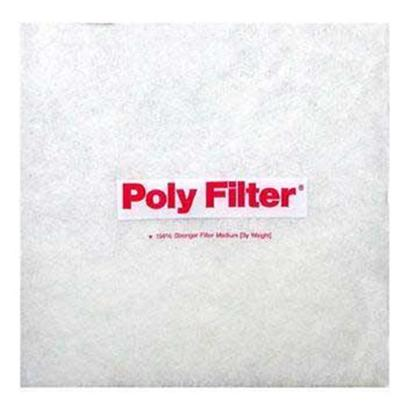 Poly Bio Marine Presents Polybio Poly Sheet 12'x12'. Highly Adsorbent Chemical Filter Media Pads Quickly and Efficiently Remove Impurities, Medications, and Phosphate from Aquarium Water. Use in Conventional Power Filters, Undergravel Filters, the Chemical Filtration Compartment of Canister Filters and Wet/Dry Filters. Simply Cut to any Size or Shape to Custom Fit any Aquarium Filter. Rapidly Improves Water Clarity and Actively Removes Harmful Organic and Various Inorganic Waste Buildup for Several Months. Changes Color to Indicate the Pollutants Being Removed and when Poly-Filter (R)is Exhausted. Will not Leach Pollutants Upon Saturation. Used by Researchers, Hospitals, Etc. For Use in Freshwater or Marine Aquariums. Pad Size - 12&quot; X 12&quot; [29040]