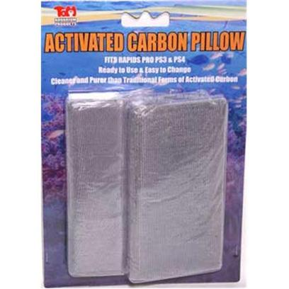 Tom (Tominaga/Oscar) Presents Tom Activated Carbon Pad 2 Pack Fits Rapids Pro Series Ps3 (29064). Replacement Carbon Cloth Pillow for Rapids Pro Filter Ps3 and Ps4 100% Activation. Full Adsorption Kinetics. Comparable to Power Carbon without the Mess. [29064]