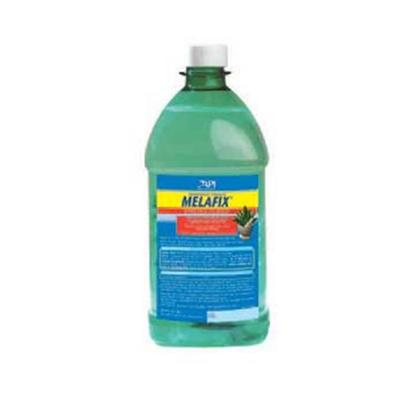 Aquarium Pharmaceuticals Presents Aquarium Pharmaceuticals (Ap) Melafix Pro Strength 64oz. Heals Open Wounds &amp; Abrasions; Promotes Regrowth of Damaged Fin Rays &amp; Tissue; Treats Fin &amp; Tail Rot. Will not Adversely Affect the Biological Filter, Alter the Ph or Discolor Water. Safe for Reef Aquariums &amp; Live Plants. For Use in Fresh or Salt Water. 64 Oz. Bottle (1.9 L) Treats 18,900 U.S. Gallons [29097]