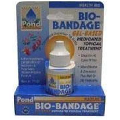 Hikari Usa Presents Hikari Bio Bandage Gel Powder for Fish .25oz. Bio-Bandage is the First in a Line of Revolutionary Treatments to Help your Pond, Freshwater or Marine Fishes Recover from Injuries or Disease Conditions without Negatively Impacting their Health or Environment. Utilizing a Proprietary Vitamin-Based Polymer we can Offer Longer Contact Time and More Rapid Repair than any Other Neomycin Based Treatment on the Market Today. Ask for the Best, Ask for Bio-Bandage! [29144]