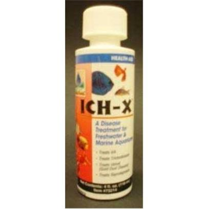 Hikari Usa Presents Hikari Ich X 4oz. A Proven Formulation to Help Eliminate the Disease Conditions Caused by Freshwater or Marine Ich without Negatively Impacting the Biological Activity in an Aquarium. [29146]