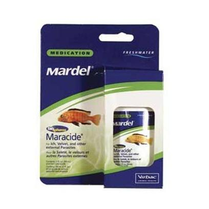 Virbac Presents Mardel Maracide-Freshwater 2oz. Treatment of Ick, Trichodina, Chilodinells and Related Parasites-with Biospheres Spot on Technology Soit is Automatically at no Water, Ph, Temperature Changes Needed [29196]