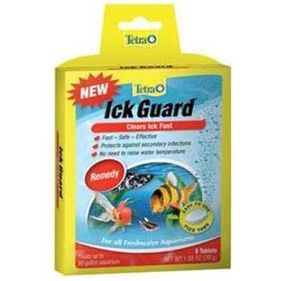Tetra Usa Presents Tetra Ick Guard Tab 8tab Tank Buddy Tablets. Ick Guard Clears Ick Fast Tetra Fizz Tabs are Fast-Dissolving, Premeasured Tablets that Make Caring for an Aquarium Faster, Easier and More Convenient Treats 10 Gallons [29243]