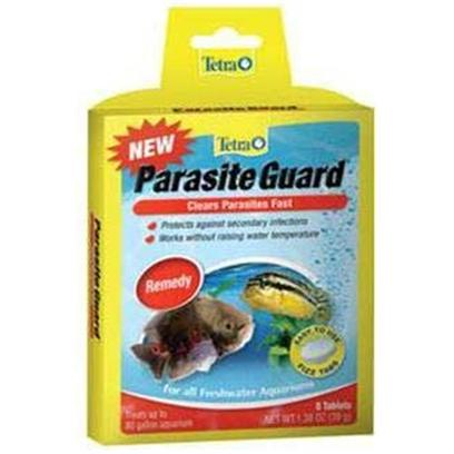 Tetra Usa Presents Tetra Parasite Guard Tab 8tab Tank Buddy Tablets. Parasite Guard Clears Parasites Fast Tetra Fizz Tabs are Fast-Dissolving, Premeasured Tablets that Make Caring for an Aquarium Faster, Easier and More Convenient Treats 10 Gallons [29244]