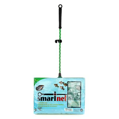 Jw Pet Company Presents Jw Pet Company (Jw) Smartnet Net Fine Aquarium 8' Coarse. This 8&quot; Fine Smartnet has Ultra Soft Nylon Mesh to Gently Cradle More Delicate Species of Aquarium Fish and to Help Protect Delicate Scales. Each Smartnet Offers a Textured and Stylized Comfort Grip Handle with a Unique Hanger to Hang the Net Right on the Tank! This 8&quot; Size is Suitable for Fish Up to 7&quot; Color Green. No Inners. Case Qty 144 [29260]