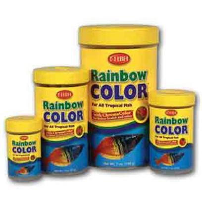 Hb.H. Enterprises Presents Hbh Rainbow Color Flakes 2oz. The Ultimate Mix of Color-Enhancing Flakes. Bossted with Chromacolor all-Natural Flake Derivative, Each Flake is a Natural Blend of Powerful Carotenoids that Dramatically Improves Fish Health and Color. [29348]