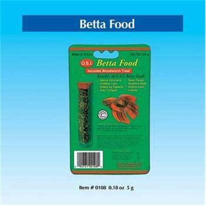 Ocean Star International Presents Ocean Star International (Osi) Betta Food .18oz. . (5 G) [29395]