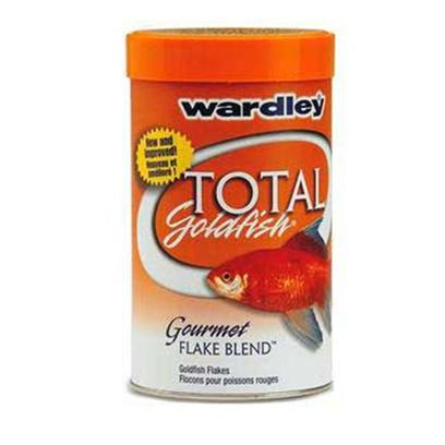 Wardley Presents Ward an Goldfish Flake Advanced Nutrition 7oz. Wardley(R) Total Goldfish(Tm) Gourmet Flake Blend(Tm) is a Superior Flake Food for all Varieties of Goldfish. This Formula has been Enhanced with Higher Levels of Carotenoids, Proven to Bring out More Brilliant Colors in Goldfish than the Leading Brand. Fortified with a Stabilized Form of Vitamin C, which is Vital for the Repair of Body Tissue and Maintenance of Disease Resistance. It Contains Natural Attractants that Entice Even the Most Finicky Goldfish to Feed. Now Blended from Nutritious Natural Ingredients and an Essential Complement of Nutrients to Help your Fish Thrive. [29486]