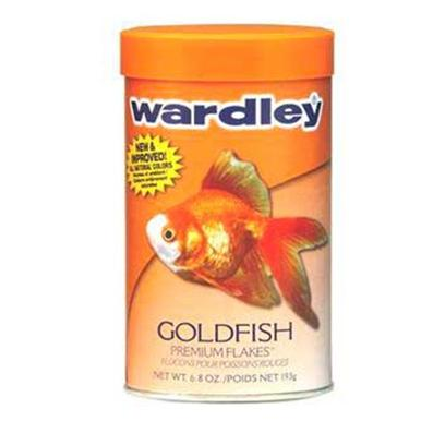 Wardley Presents Ward Goldfish Flake 6.8oz. Wardley(R) Goldfish Premium Flakes(Tm) is Reformulated with an Optimal Blend of Ingredients to Deliver Superior Nutrition that Helps Enhance the Brilliant Coloration, Growth and Vitality of all Varieties of Goldfish. This Product is Fortified with Natural Attractants, Color Enhancers Such as Astaxanthin, and Highly Digestible Protein Sources Necessary for Goldfish to Thrive. [29497]