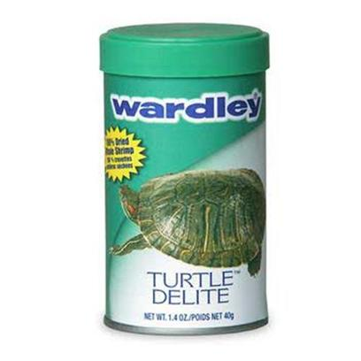 Wardley Presents Ward Turtle Delite 1.4oz. Wardley(R) Turtle Delite (Tm) is a Nutritious, Whole Dried Shrimp Supplement for Turtles. [29511]