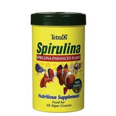 Tetra Usa Presents Tetra Spirulina Flake 5.65oz-Large. In Today's Aquariums, Fish Often don't Get Enough Vegetable Matter. Spirulina is a Nutritious Vegetable Supplement for all Algae Grazers. Feed just the Right Amount of Spirulina to Enhance the Diets of Plant Eating Tropical Fish, Marine Fish, Even Goldfish. Spirulina is Vitamin Rich, Delivering a Range of Vitamins Including C, E, a, and D3. [29523]