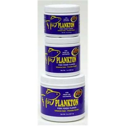 Zoo Med Laboratories Presents Zoo Plankton Flake Medium (Med) Aquatrol 4oz. Zoo Meds Plankton Fish Food Flakes Combine Ample Quantities of Plankton and Krill which Contain High Levels of Natural Cartenoids to Bring out the Full Color of your Fish. This Premium Food Provides your Fresh or Saltwater Fish with More of the Nutritional Ingredients they Desire. For Daily Feeding of Fresh or Saltwater Fish. Balanced High Protein Diet for Color and Growth. [29528]