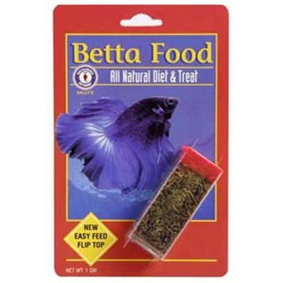 San Francisco Bay Brand Presents San Francisco Bay Brand (Sf) Betta Food (Vial) 1gm. Freeze Dried Bloodworms, its that Simple. Leave Nature at its Best. Also Known as Red Mosquito Larve. Your Discus, Eels, Betas, Loaches and Other Community Freshwater Fish will Thrive on this Primary Food. Choice for all Betta's and Community Tanks. Bloodworms are a Natural Product that may Cause Allergic Reaction in some People. Recommended for all Freshwater Betta's, Angels, Discus, Barbs, Cichlids, Gouramis, Live Bearers, Loaches, Eels, Catfish, Tetras, Sharks & Silver Dollars and all Saltwater Angelfish, Butterflyfish, Damsels, Clownfish, Groupers, and Eels. 1g Vial [29683]