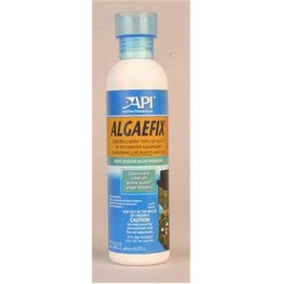 Aquarium Pharmaceuticals Presents Aquarium Pharmaceuticals (Ap) Algae Fix 4oz Bottle. A Revolutionary New Product for Controlling Many Types of Algae in Freshwater Aquariums Containing Live Plants and Fish. Keeps Freshwater Aquariums Clean and Clear. [29746]