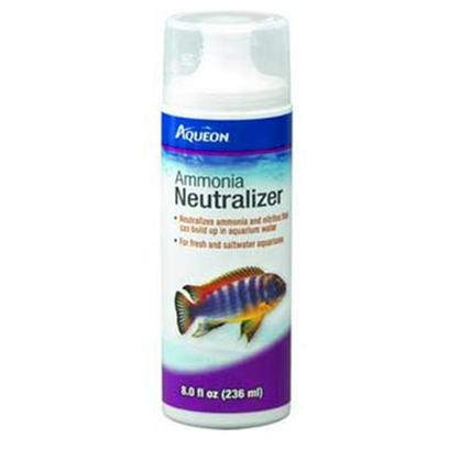 Aqueon Presents Aqueon Ammonia Neutral 8oz. Whether it's Preparing your Tap Water for Fish, Clearing Murky Water, Neutralizing Harmful Ammonia or Renewing Essential Trace Elements, with Aqueon Water Care Products, you can be Assured that your Fish will Remain Colorful, Healthy and Active. [29809]