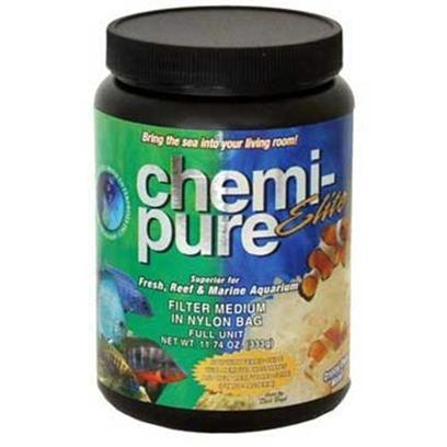 Boyd Enterprises Presents Boyd Chemi Pure Elite Half Unit-6oz. Beautiful Water with no Phosphates or Silicates. Eliminates Phosphates and Silicates Maintains Ionic Balance for a More Stable and Healthier Environment Removes Toxins and Offensive Odors Immediate Acclimation Fish and Invertibrates Remain Healthy and Vigorous. [29828]