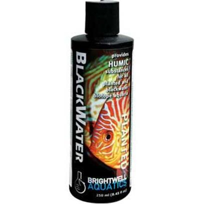 Brightwell Aquatics Presents Brightwell Aquatics (Bwell) Blackwater Liquid 8.5oz/250ml.  Establishes Similar Water Conditions to Those Found in Blackwater Rivers, Many of which are Home to Important Aquarium Fishes and Plants.  may be Used to Help Simulate the Onset of the Rainy Season for Encouragement of Fish Spawning.  Provides Humic Substances (Humic and Fulvic Acid), Complex Bio-Organic Molecules Known to Increase the Availability of Important Nutrients (Such as Iron, Calcium, Magnesium, Molybdenum, Copper, Manganese, Zinc, Cobalt, and Nickel) to Plants, Potentially Enhancing the Effectiveness of Plant Nutrient Solutions in Aquaria.  Formulated Utilizing Extensive Research on Aquatic Plant Nutrient Requirements and Riverine Water Chemistry. [29833]