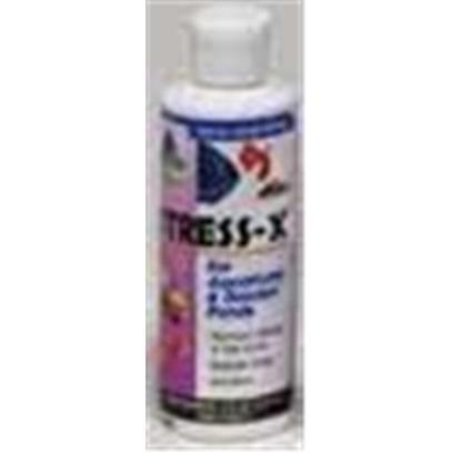 Hikari Usa Presents Hikari Stress X 1oz. Stress-X was Developed to Offer the Hobbyist an Effective Way to Replace a Lost Slime-Coat on Freshwater, Marine or Pond Fishes while Helping to Reduce Stress and More... [29903]
