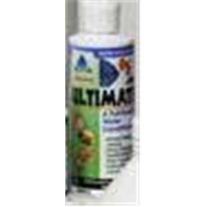 Hikari Usa Presents Hikari Ultimate Ultimate-Complete Water Conditioner 4oz. Ultimate is the World's First Full-Function Water Conditioner. With Everything you Need in One Bottle to Maintain a Superior Environment for your Aquatic Pets. For New Setups Ultimate Instantly 'Ages' Water Allowing you to Enjoy your Pets in Action Quicker without Fear of the Negative Impact of Toxic Chloramine, Ammonia, Chlorine, Heavy Metals or Nitrite. [29904]