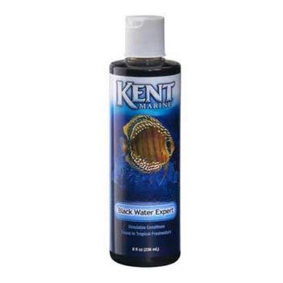 Kent Marine Presents Kent Marine (Kent) Black Water Expert 8oz. Kent Black Water Expert Simulates Water Conditions in Natural Tropical Waters. It Encourages Spawning and Aids the Hatching Process. Black Water Expert Improves Color and Vigor of Fish and Reduces Stress. Its Naturally Chelated Iron, Vitamins and Other Organic Compounds Accelerate Cell Division and Stimulate Root Systems in Plants, Providing for Luxurious Green Plant Growth, yet it does not Cause Unsightly Algae Growth. Black Water Expert is Similar in Composition to Rich Soil in a Bottle. Addition to an Aquarium Tints the Water a Light Brown or Yellow Color, Creating Conditions Much Like Those Found in the Amazon Region of South America. Kent Black Water Expert is Excellent for Discus, Tetras, Angelfish, Barbs, Gouramis and all Other Soft Water Fish. [29945]