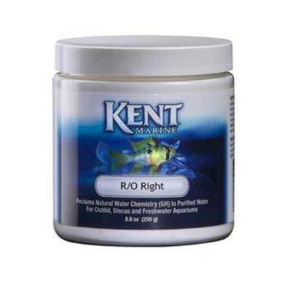 Kent Marine Presents Kent Marine (Kent) Ro Right 250 Gram. Description Specially Formulated Mixture of Dissolvable Solids (also Called General Hardness or Gh) which Includes Major Salts of Sodium, Magnesium, Calcium, and Potassium Together with all Necessary Minor and Trace Minerals, Together with a Small Amount of Carbonate Alkalinity (Kh) to Reproduce Artificial River Water (Most Aquarium Fish are River Fish). Provides Natural Water Chemistry for the Conversion of Reverse Osmosis, Distilled or Deionized Water for Fresh Water Fish and Plants. Provides a Balanced Electrolyte System. Useful for all Fresh Water Fish, Including Discus. This is the Premium Dry Formula Used the World over to Raise Discus and Other Freshwater Species. Contains no Phosphates, Nitrates, Silicates or Organic Chemicals to Pollute the System! R/O Right is Unmatched for Quality and Value! [29963]