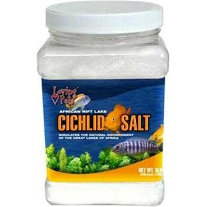 Loving Pets Presents Lv African Cichlid Salt 1lb Jar. African Rift Lake Cichlid Salt Provides the Best Aquarium Conditions for African Cichlids to Thrive and Reproduce. African Rift Lake Cichlid Salt Contains all the Necessary Trace Elements Found in the African Cichlids Natural Environment, to Promote Intensified Color and Excellent Spawning Conditions. African Rift Lake Cichlid Salt Stimulates your Fry to Grow Faster and Larger. [30010]