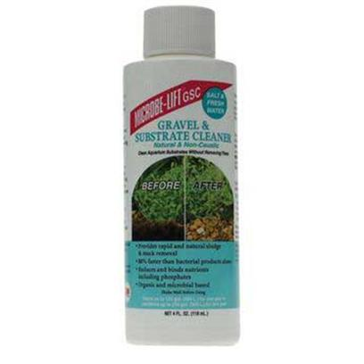 Ecological Labs (Microbe-Lift) Presents Mic Gravel &amp; Substrate Cleaner 16oz Aquarium. Reef, Marine &amp; Freshwater Safe Bacterial Products Natural and Non-Caustic Provides Rapid and Natural Sludge &amp; Muck Removal 80% Faster than Bacterial Products Alone Reduces and Binds Nutrients Including Phosphates. Organic and Microbial Based also Available in 4 Oz and 16 Oz. [30032]