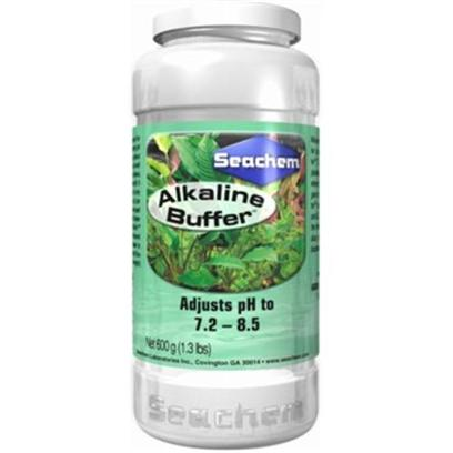 Seachem Laboratories Presents Seachem Alkaline Buffer 600gm. Alkaline Buffer is a Non-Phosphate Buffer Designed to Raise Ph and Alkalinity (Kh) and Buffer with Acid Buffer . These Buffers are Designed for the Planted Aquarium or for Very Hard Water where Phosphate Buffers may Pose an Algae or Cloudiness Problem . Alkaline Buffer Raises Ph and Buffers Between 7.2 and 8.5. It is Gentle, Safe, and Enhances the Freshwater Environment. [30053]