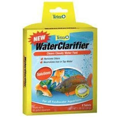 Tetra Usa Presents Tetra Water Clarifier 8tab Clear Tank Buddy Tablets. Waterclarifier Clears Cloudy Water Tetra Fizz Tabs are Fast-Dissolving, Premeasured Tablets that Make Caring for an Aquarium Faster, Easier and More Convenient Treats 10 Gallons [30193]