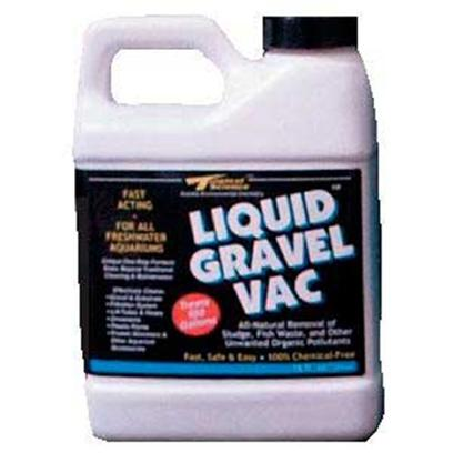 Tropical Science Labs Presents Tr Sci Liquid Gravel Vac Fw Freshwater 16oz. Outstanding Breakthrough Product Drastically Reduced the Hassles and Mess of Manual Aquarium Maintenance Chores! Voracious, Non-Pathogenic Sludge-Eating Bacteria Quickly &amp; Safely Clean Gravel &amp; Substrate, Mechanical Filtration Systems, Lift Tubes &amp; Hose, Ornaments, Lice and Artificial Plants, Protein Skimmers, and Other Aquarium Accessories. !00% Chemical-Free. [30207]