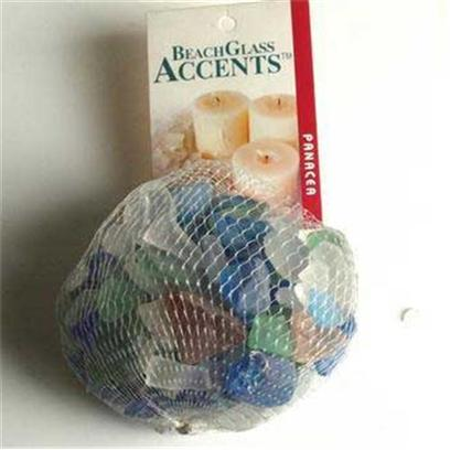 Panacea Products Presents Pan Beach Glass-Assorted 1lb Bag. Assorted Colors Assorted 1 Lb [30230]