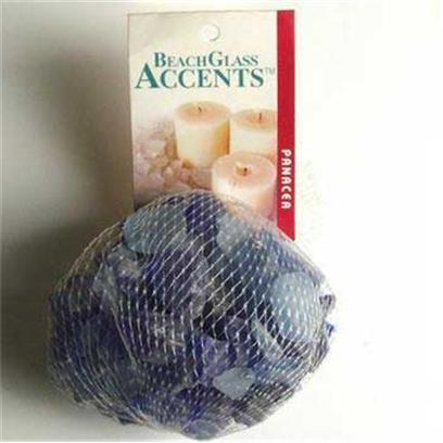 Panacea Products Presents Pan Beach Glass 1lb Cobalt Blue Bag. Blue 1 Lb [30232]