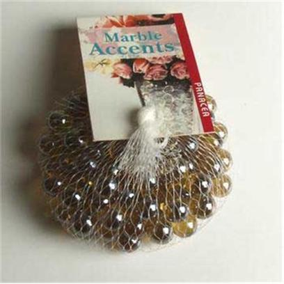 Panacea Products Presents Pan Marbles 100ct Lustre Amber Bag. Amber 100 Pc [30277]