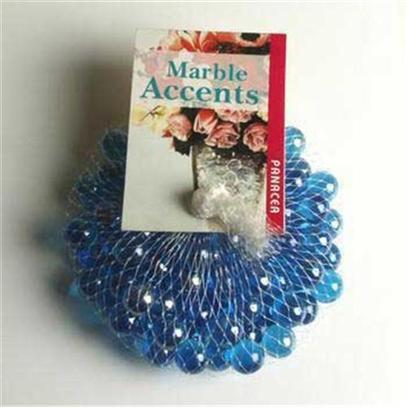 Panacea Products Presents Pan Marbles 100ct Lustre Ice Blue Bag. Blue 100 Pc [30280]