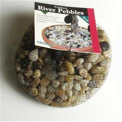 Panacea Products Presents Pan River Pebbles 28oz Mixed Polished Bag Colors. Multi 28 Oz [30296]