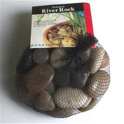 Panacea Products Presents Pan River Rock 2lb Asst Colors Polished Bag Assorted. Assorted 2 Lb [30301]