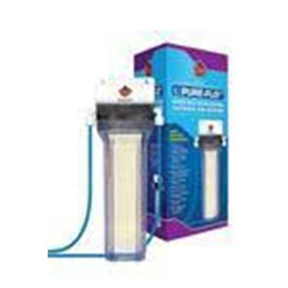 Coralife Presents Coralife (Cl) Post Deionizer Canister Pure Flo Ii Unit. Mixed-Bed Deionization Cartridge and Housing Coralife Pure-Flo Ii Thin Film Composite (Tfc) Reverse Osmosis Water Purification Systems Generate Purified Water for Aquarium Use. The Units Remove Hardness, Heavy Metals, Toxins and Many Other Tap Water Impur 6.75' X 6.25' X 13.75' [30449]