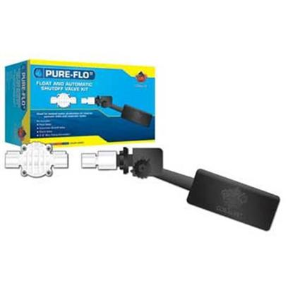 Coralife Presents Pure Flo Ii Float &amp; Automatic Shut-off Valve Kit. Great for Freshwater, Saltwater, and Reef Aquariums Float Valve (Pressure Switch - Shuts off Water from Source at 29 Psi) Automatic Shutoff Valve (Mechanical Valve - Float Forces Valve Closed as Water Level Rises) Size- Accessory / Dimensions- L9 X W2 X H2 [30450]